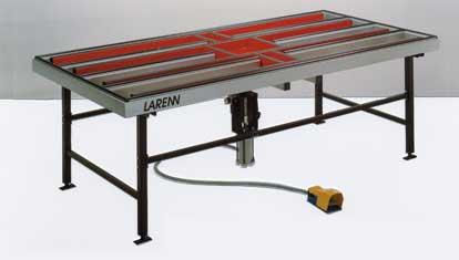 larenn tables de travail. Black Bedroom Furniture Sets. Home Design Ideas